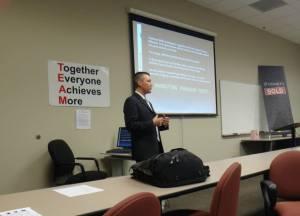 Robert Dotcom Jackson teaching Online Marketing for Reece Nichols Realtors